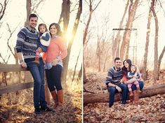 Anna Lee Media, Oklahoma portrait photographer, family photo outfits ideas, woods, creative, cute, bright, fall, autumn