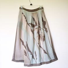 """Vintage Italian silk midi skirt 100% silk vintage midi skirt. Made in Italy. Unbelievably comfortable for summer day. Size small. Waist: 14"""", length: 31"""". $46 shipped to the first email, US only. Skirts Midi"""