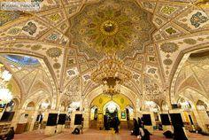 Prayer Hall at the Shrine of Syeda Rukaiya (Sakina) in Damascus, Syria