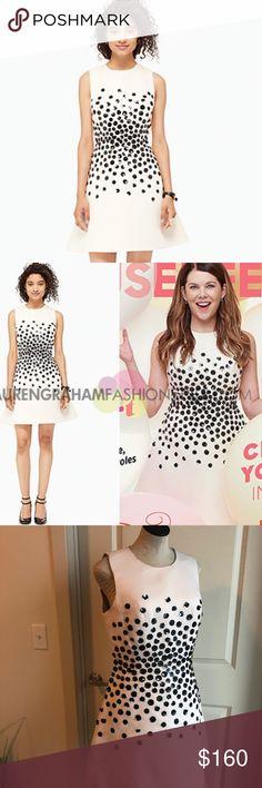 KATE SPADE Hydrangea Embellished Dress NWT Kate Spade Hydrangea Embellished Dress Jazz Things Up Line Size 10  MSRP $598 kate spade Dresses Mini