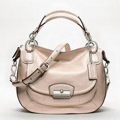 ShopStyle: Kristin Metallic Leather Round Satchel