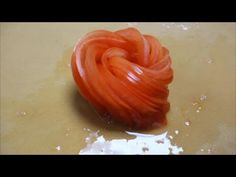 Tomato Rose Re-Do (better viewing angle) - How To Make Sushi Series - YouTube