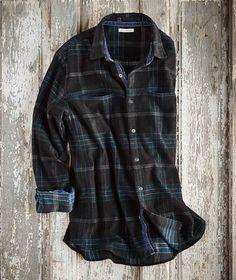 Effortlessly Cool Men's Shirts - Fjord Cord - Carbon2Cobalt