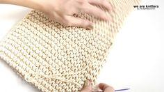 Vidéo tutoriel We Are Knitters x Pinterest pour tricoter votre propre sac Boho / Tutorial video to knit your own boho bag