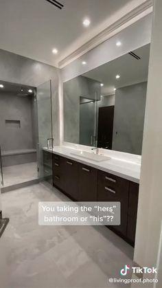 Home Building Design, Home Room Design, Dream Home Design, Home Interior Design, Modern Mansion Interior, Bathroom Design Luxury, Modern Bathroom Design, Modern House Design, Plafond Design