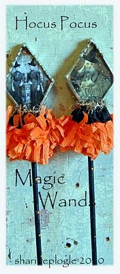 Make a collection of Magic Wands, and put them in a vase.