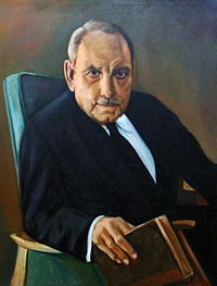 """Don José Luis Alberto Muñoz Marín (February 18, 1898 – April 30, 1980), known as Luis Muñoz Marín, was a Puerto Rican poet, journalist, politician and statesman, regarded as the """"Father of modern Puerto Rico,"""" and """"The Architect of the Commonwealth"""". In 1948 he was the first democratically elected Governor of Puerto Rico, spearheading an administration that engineered profound economic, political and social reforms on the island."""