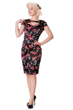 Rosalie Dress Black - Dresses | pinupempireclothing.com The Coolest Place Around ! ADD TO CART FOR XMAS