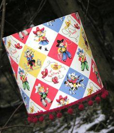 Cowboy Lamp Shade / Light Fitting / Lampshade on Etsy, $77.33