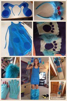 DIY Halloween blues clues costume