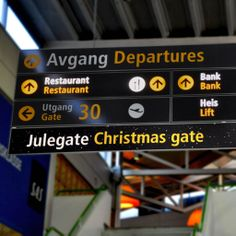 This year, Stavanger Airport, Sola welcomes all passengers home for Christmas already at the airport.