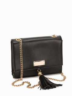 Small Chain Crossover - Nly Accessories - Black - Bags - Accessories - Women - Nelly.com