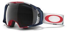 OAKLEY Airbrake Flight Series Dark Grey & H.I. Persimmon női síszemüveg. Optimális látást biztosít bármilyen helyzetben. KATTINTS IDE!