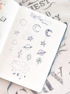 10 doodles pour votre Bullet Journal Bullet Journal En Français, Bullet Journal How To Start A, Bullet Journal Layout, Bullet Journal Inspiration, Bujo, Small Doodle, Learn To Draw, Doodles, Invitations