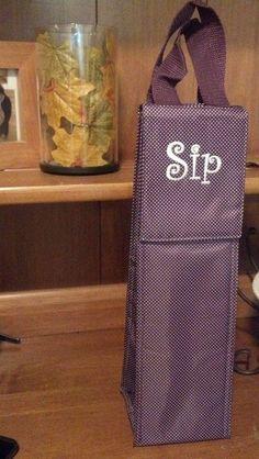 You don't have to personalize with your initials! So cute! www.mythirtyone.com/Bachmann