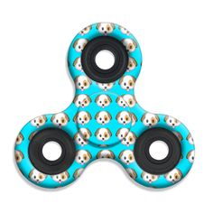 Spinner Squad Emoji Puppy Face Fidget Spinner. Just one of over 60+ spinner designs from Top Trenz! Voted #1 for fastest and longest spin.