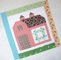 Bee In My Bonnet: The Quilty Barn Along...Block 4...Churndash...and the Sashing Tutorial!!!