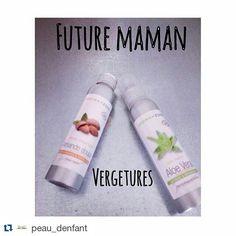Super recette ! #Repost @peau_denfant with @repostapp  RECETTE maison d'une huile ANTI-VERGETURES pour les futures mamans :  INGREDIENTS : - 50 ml d huile DAMANDE DOUCE bio - 50 ml de GEL D'ALOE VERA.  PRÉPARATION : Versez le gel d'aloé vera dans un petit bol ajoutez doucement l huile damande douce en remuant à laide dun petit fouet. A laide dun entonnoir versez lémulsion dans un flacon pompe. Sinon encore plus simple transvaser les deux bouteilles (voir ci-dessus en photo). APPLICATION…