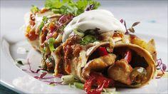 no - Finn noe godt å spise Chicken Enchilladas, Enchiladas, Cheat Meal, Frisk, Tex Mex, I Love Food, Guacamole, Cravings, Chicken Recipes
