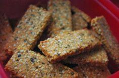 Szezámrúd Krispie Treats, Rice Krispies, Granola, Crackers, Banana Bread, Gluten Free, Cookies, Food, Diet