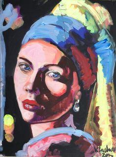 Peter Klashorst - Het meisje met de parel