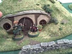 Terranscapes Halfling Homes and Slate Walls Garden Bridge, Slate, Custom Design, Scenery, Fantasy Miniatures, Outdoor Structures, Outdoor Decor, Youtube, Walls