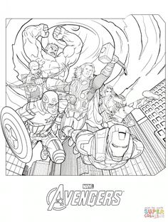Coloring Pages Knockout Avengers Coloring Page: Marvel's The Avengers Coloring Pages  Free Coloring Pages Avengers Coloring Pages Captain America Avengers Coloring Pages Hawkeye