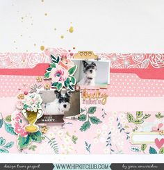 Have you ever tried a tone on tone layout? Designer @abstractinspiration punched a few tabbed strips from papers in the #may2017 #hipkits to create this super pretty layout!  @hipkitclub #hkcexclusives #exclusives #hipkitclub #hipkit #hipkitexclusives @cratepaper #chasingdreams #toneontone #monochromatic #color #pink #papercrafting #tabs #kitclub #scrapbookkits #mainkit #scrapbookingkitclub #scrapbooking #embellishmentkit