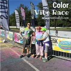 Color Vibe 5k Nashville was a blast with #TumEYummies