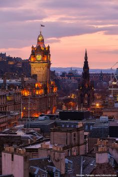 Edinburgh, Scotland Like something straight out of Peter Pan