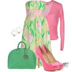 6 стильных сочетаний розового и зеленого
