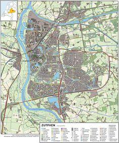 Zutphen-topografie