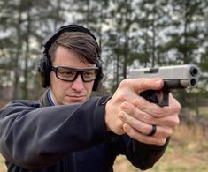 Have you covered your eyes with Hudson safety glasses before pulling your gun trigger? Safety is so simple to apply, avoiding injuries is also simple by wearing safety approved optical.