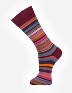 Eruption no.914 Effio #Dandy #Mensstyle #Mensfashion #Gentleman #Socks #DutchDesign #MadeinItaly #Stripes #Colourful