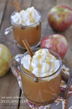 This recipe for spiced apple cider is the best you will ever have. The addition of orange juice and brown sugar and letting it simmer create an amazing flavor.