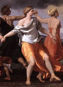 Dance to The Music of Time Nicolas Poussin detail Poussin Nicolas, Baroque Fashion, 17th Century, December, Heaven, Dance, Statue, Detail, Music