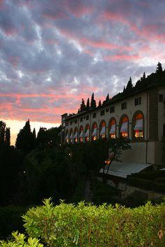 Villa San Michele, Fiesole. Florence,Italy
