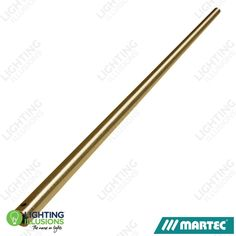 Brushed Nickel Martec 900mm Extension Rod For Lifestyle, Razor, Alpha, Trisera And Primo Ceiling Fans