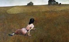 Christina's World by Andrew Wyeth  Barn Country Scene