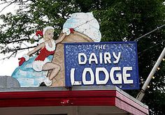 Another local favorite for ice cream--best malts around!