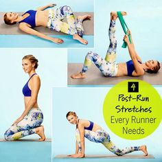 4 Post Run Stretches Every Runner Needs | Remediesly