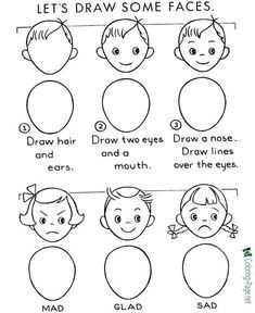 How to Draw for Kids - Many, many pages to print