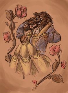 A Bela e a Fera - Ilustração