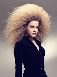 Amazing Texture from Gandini's Spring/Summer Collection. #  avant garde hair