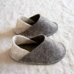 Scarpette in feltro per bambini – Cartamodello e Tutorial