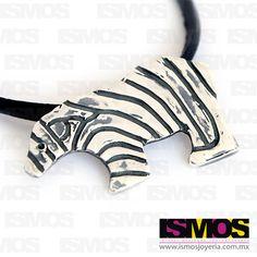 ISMOS Joyería: dije de plata de oso polar // ISMOS Jewelry: silver polar bear pendant