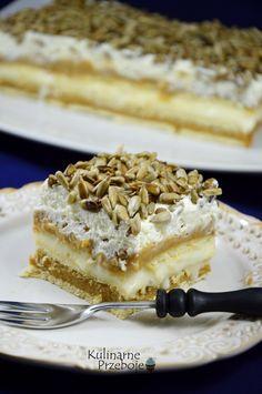 ciasto bez pieczenia- zamiast słonecznika solone orzeszki ziemne