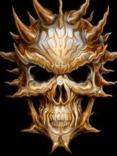 ☠Reaper•Skull•GiF☠