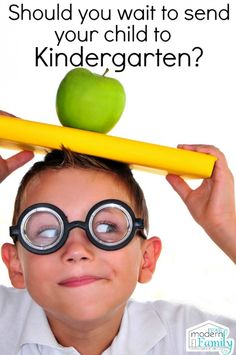 Should you wait another year to send your child to Kindergarden?