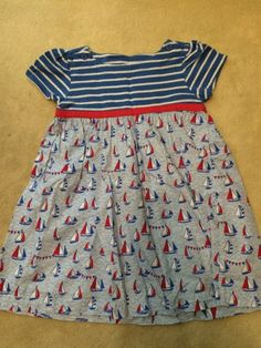 Check out this listing on Kidizen: Sailboat Dress Size 2-3 Jojo Maman Bebe via @kidizen #shopkidizen